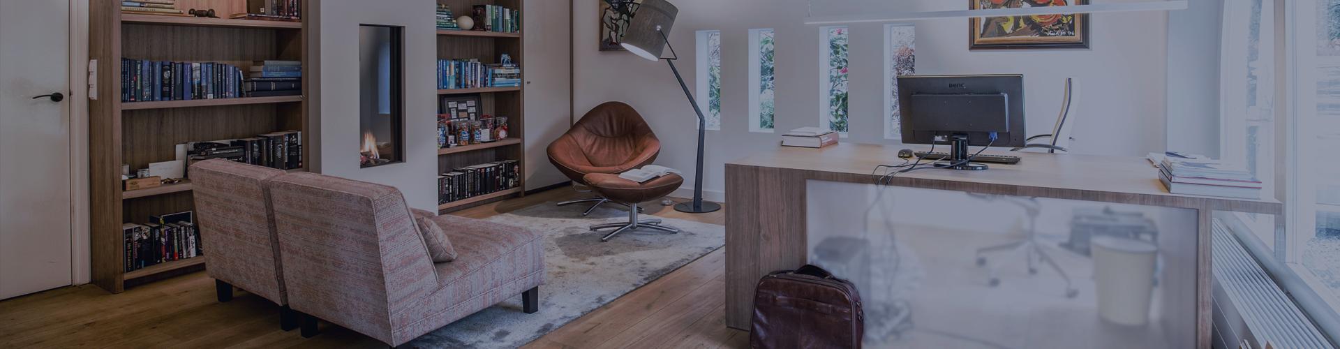 Thuiskantoor in plaats van een garage door hemelsby - Thuis kantoor ...