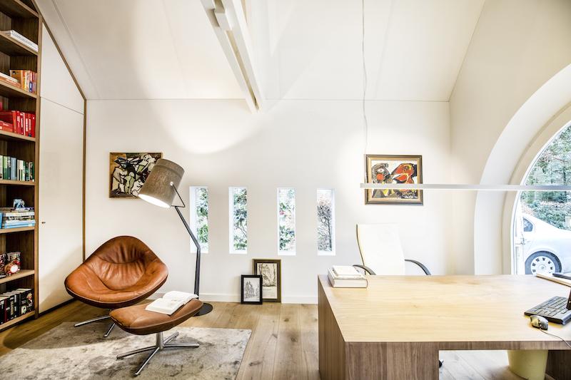 Thuiskantoor Uitbouw Tuin : Thuiskantoor in plaats van een garage door hemelsby